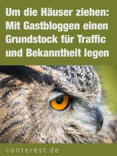 Um die Häuser ziehen: Mit Gastbloggen einen Grundstock für Traffic und Bekanntheit legen — Conterest