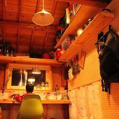キャンプ用品/DIY/有孔ボード/小屋DIY /ガレージ/ガレージDIY…などのインテリア実例 - 2016-02-17 01:01:38   RoomClip(ルームクリップ)