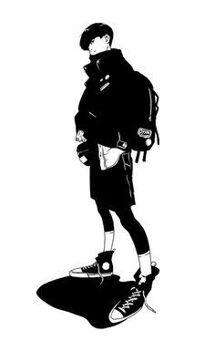tenderness is a virtue Art Et Illustration, Character Illustration, Illustrations, Character Design References, Character Art, Manga Art, Manga Anime, Anime Boys, Art Sketches