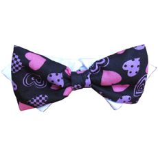 Pooch Outfitters Purple Heart Bow Tie