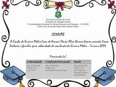 convites para formatura de ensino medio 3