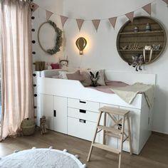 Box Room Bedroom Ideas, Bedroom Layouts, Small Room Bedroom, Baby Bedroom, Kids Bedroom, Dispositions Chambre, Scandinavian Kids Rooms, Ideas Habitaciones, Child Room