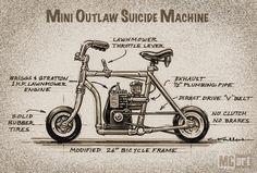 mini bike - Pesquisa Google