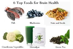 6 top #foods for brain #health