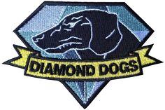 Diamond Dogs Fox Hound Metal Gear Solid Big Boss Snake Patch