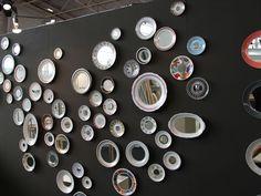 Miroirs Mira de Christine Hechinger : Maison&Objet : ce que nous avons repéré pour vous - Journal des Femmes Décoration