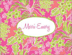 Luscious Foldover Note Cards
