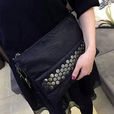 Sequined Real Leather Evening Clutch,  bag, Lila's Beauty Bag, [product_tags]
