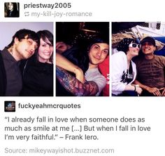 Frank and Jamia are so adorable together <3