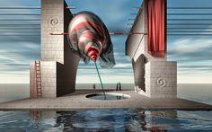 Kolja Tatic, 1962 ~ Surrealist Digital painter | Tutt'Art@ | Pittura * Scultura * Poesia * Musica |