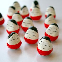【楽天市場】心はひとつ!PRAY FOR JAPAN福島県会津若松市の民芸品起き上がり小法師(こぼうし)【メール便不可】:あやの小路