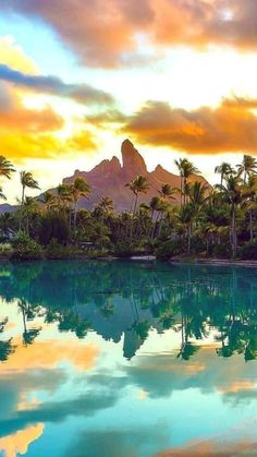 Bora Bora, Beautiful Places In The World, Amazing Places, Destinations, French Polynesia, Stunning View, The Good Place, Photos, River
