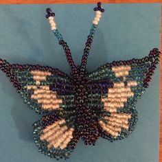 Handmade in Guatemala Beaded Butterfly Brooch! Sweet Butterfly Brooch pin! Adorable on pantsuits and plain dresses. Listed as Modcloth for visibility. Cheaper on Ⓜ️ercari and better deal if bundled! Willing to consider reasonable offers :) ModCloth Jewelry Brooches