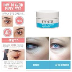 Redefine your eyes!  Minimize crow's-feet, reduce puffiness and dark under eye circles while brightening the eye area.  https://kdhendon.myrandf.com