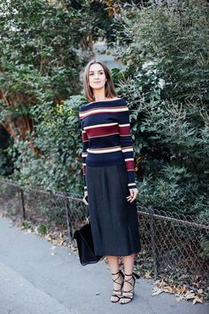 Bold Stripes to Wear Now
