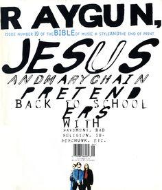 Raygun Magazine, Jesus and Mary Chain