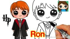 How to Draw Ron Weasley Easy   Harry Potter