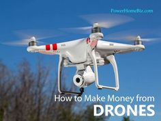 Are you ready for drones? Is that in your wish list? They're popular, which means an opportunity to make money! #smallbusiness