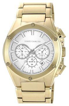 Men's Vince Camuto Chronograph Bracelet Watch