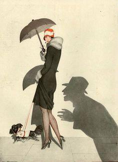 Illustration by Zyg Brunner For La Vie Parisienne 1920s