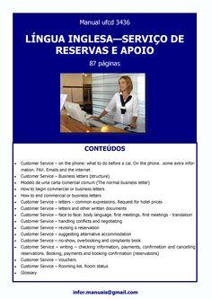 ufcd 3436.Língua inglesa - Serviço de reservas e apoio