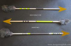 washi tape arrows