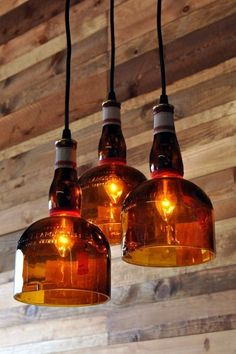 Cool Wine Bottles Craft Ideas (3)                                                                                                                                                                                 More