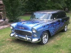 1955 Chevrolet sedan delivery ... Brought to you by House of Insurance Eugene, Oregon Car Insurance Agency Oregon.