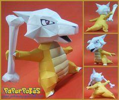 Paperpokés - Pokémon Papercrafts: MAROWAK