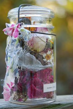 Summer in a Jar--collect items found during the summer and save.  Could do this all year with items, ticket stubbs, etc.