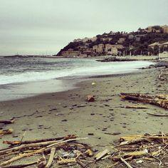 winter sea Italy