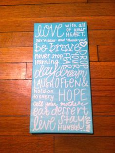 Canvas Painting - Little Inspirations