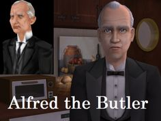 Alfred, the Butler