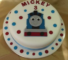 Personalised Thomas the Tank Engine cake topper set in Crafts, Cake Decorating | eBay