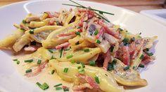 Maultaschen-Jägerpfanne, ein tolles Rezept aus der Kategorie Pasta. Bewertungen: 101. Durchschnitt: Ø 4,6.