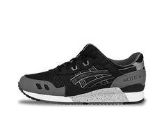 4ed3651badaf ASICS GEL-LYTE III Black Black