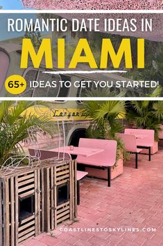 On the hunt for the best romantic things to do in Miami for couples? If you're looking for truly unique date ideas in Miami, We've got you covered. Whether you are planning the perfect Miami date night or a couple's getaway to Miami, there is something for everyone in the Magic City. Ready to pull out cupid's arrow? Check out our list of 65+ best Miami date night ideas and romantic things to do in Miami for couples. #Travel #CouplesTravel #Miami Romantic Beach, Romantic Honeymoon, Romantic Dates, Romantic Travel, Usa Travel Guide, Travel Usa, Travel Guides, Florida Vacation, Florida Travel