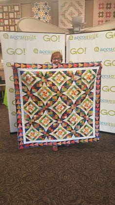 Erica's dope new quilt