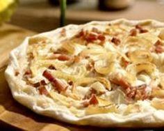 Tarte flambée (facile, rapide) - Une recette CuisineAZ
