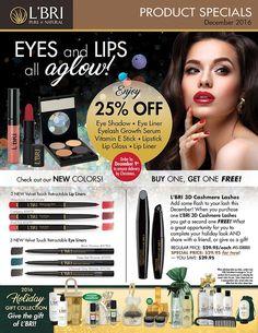 You Naturally Beautiful: December L'BRI Product Specials
