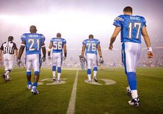 Chargers in their Powder Blues --  Walking into the Abyss.