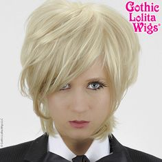 Cosplay Wigs USA™ <br> Boy Cut Long - Light Blonde for Brienne of Tarth