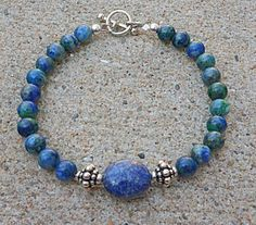 Genuine Natural Grade AA Lapis Lazuli & by EurekaSpringsRocks, $41.45 on Etsy.com