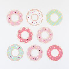 Donut Wall Stickers by jimmycricket on Etsy