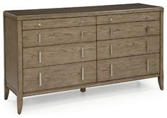 Pierce 8-Drawer Dresser - contemporary - dressers chests and bedroom armoires - Mitchell Gold + Bob Williams