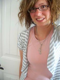T-Shirt To Summer Cardigan Tutorial ... hmmm