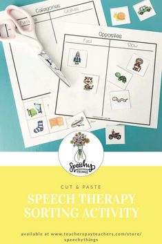 Fun speech therapy a
