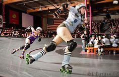 LA Derby Dolls' Tough Cookies vs. the Varsity Brawlers at the Doll Factory, Los Angeles, Calif. on October 3, 2009. (Photo by Stalkerazzi)