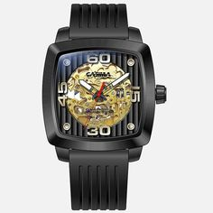 New design luxury watches men Automatic mechanical fashion business dress classic watch gold waterproof