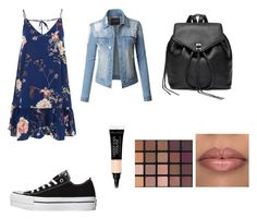 """Street style"" by sofi-gonzalez93 on Polyvore featuring moda, River Island, Converse, Rebecca Minkoff y LE3NO"